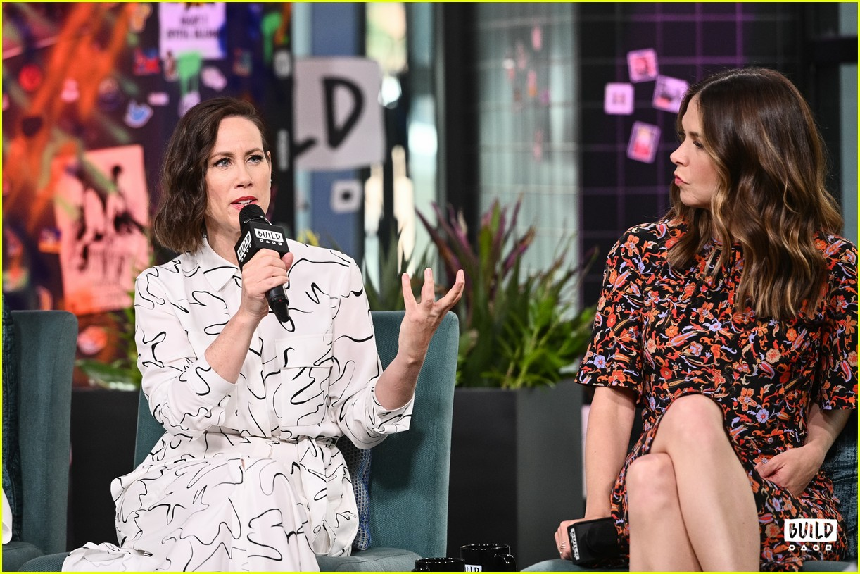 sutton foster younger cast at build series 474308960