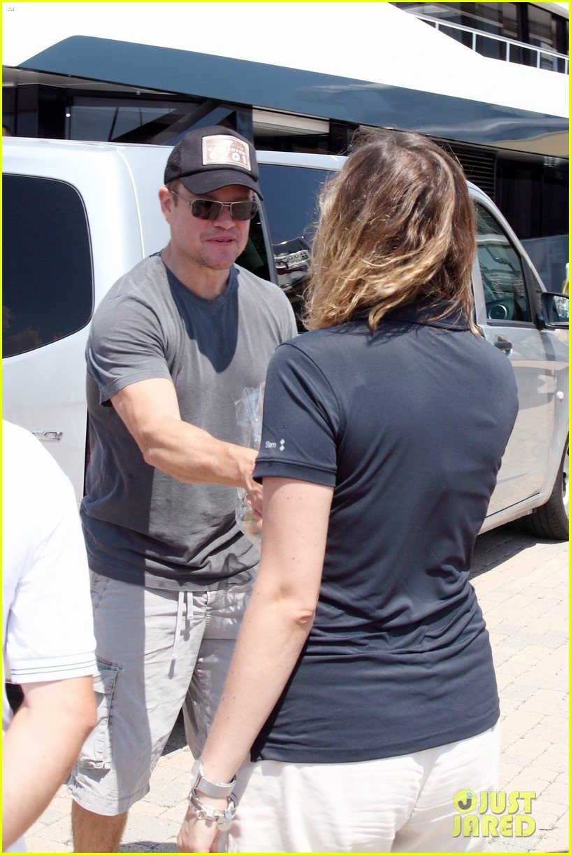 matt damon and wife luciana wrap up their italian vacation 014321167