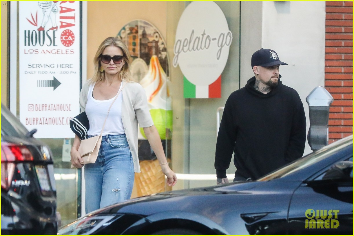 cameron diaz benji madden date night in beverly hills 044329118