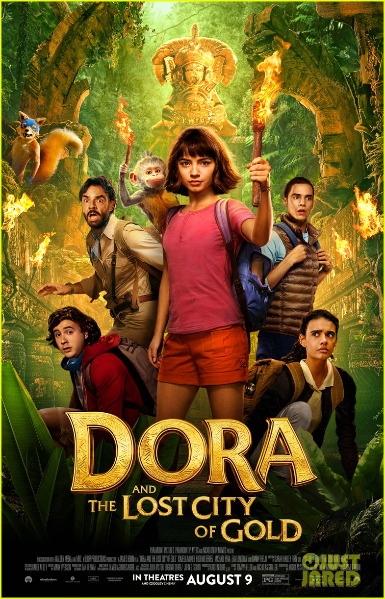 Watch The New Trailer For 'Dora & The Lost City of Gold