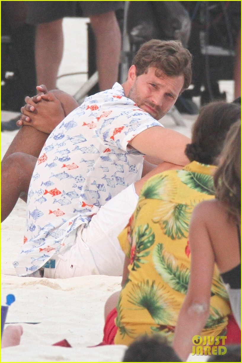 jamie dornan wrestling on the beach 044326019