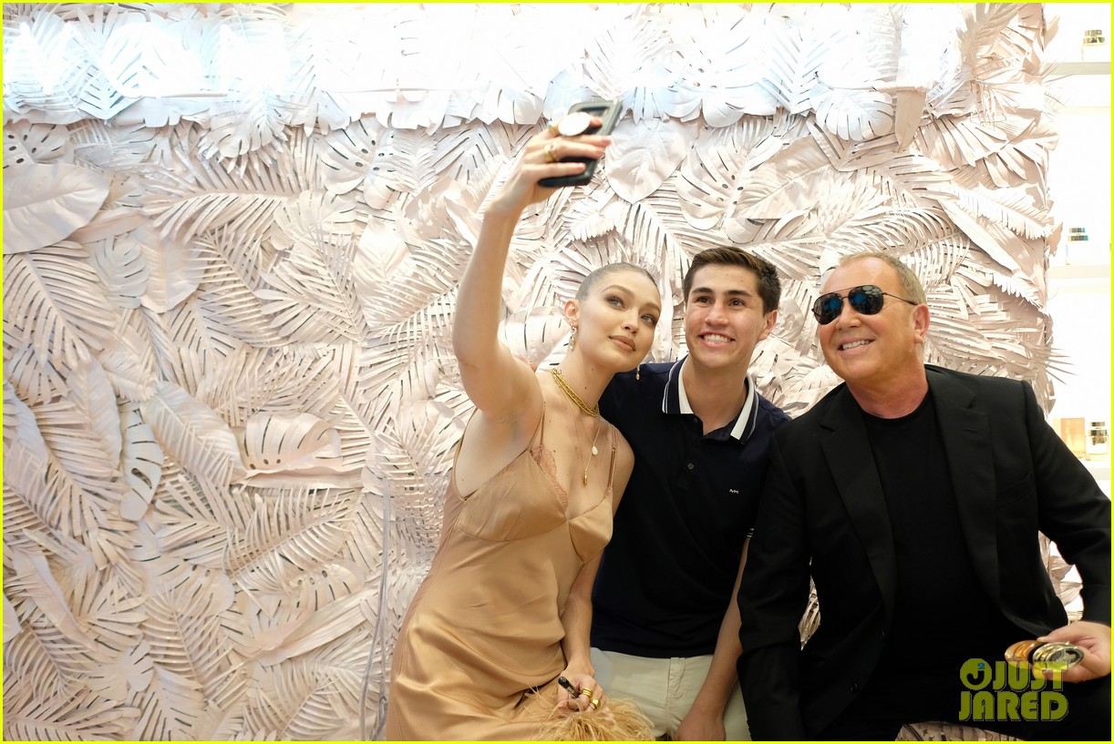 gigi hadid attends launch party michael kors wonderlust fragrance 184322637