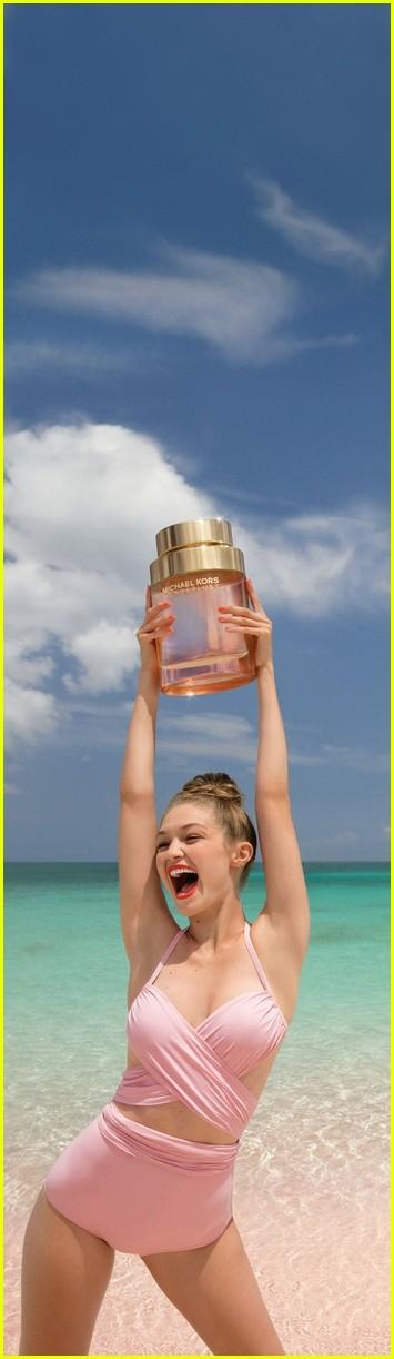 gigi hadid is the new face of michael kors wonderlust perfume 064322644