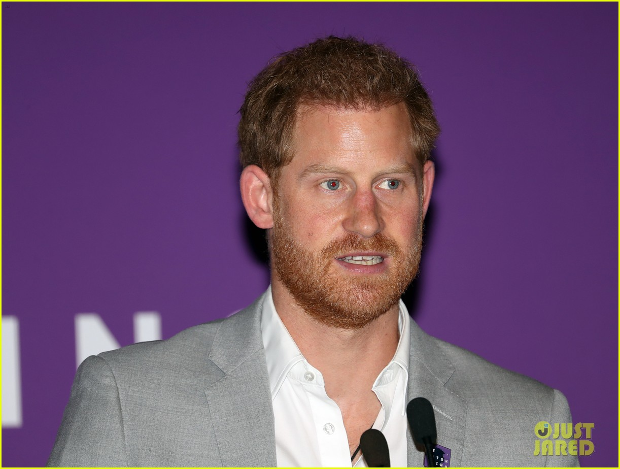 prince harry shares hope to be a role model for son archie at diana award summit 09