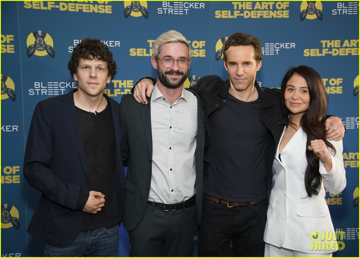 jesse eisenberg alessandro nivola the art of self defense screening 094320907