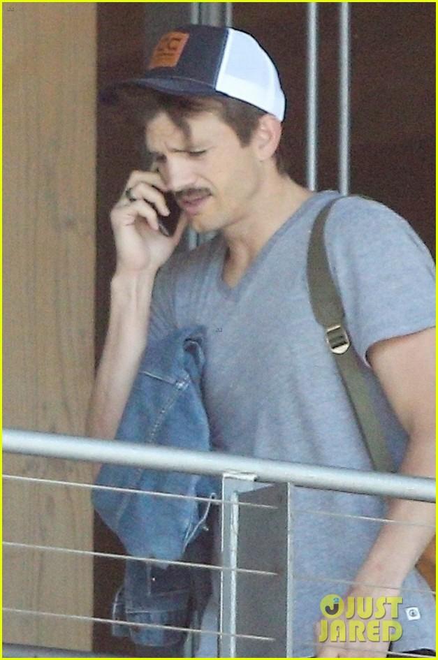 mila kunis ashton kutcher step out separately in la 034326203