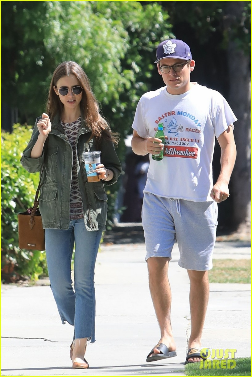 lily collins kevin zegers lunch meetup pics 014321077