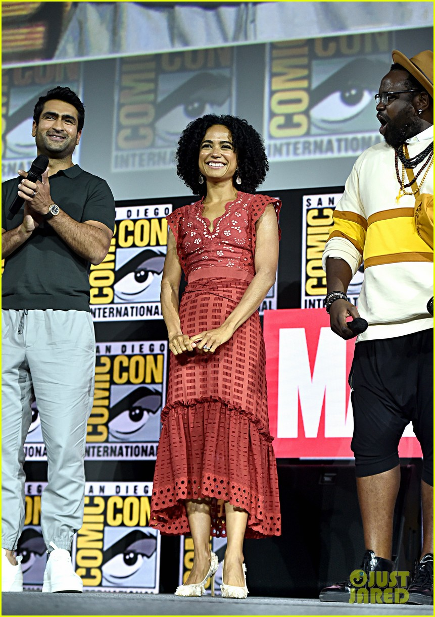 angelina jolie the eternals co stars comic con 10