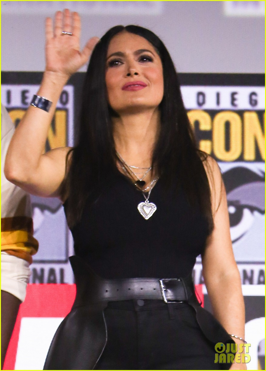 angelina jolie the eternals co stars comic con 16