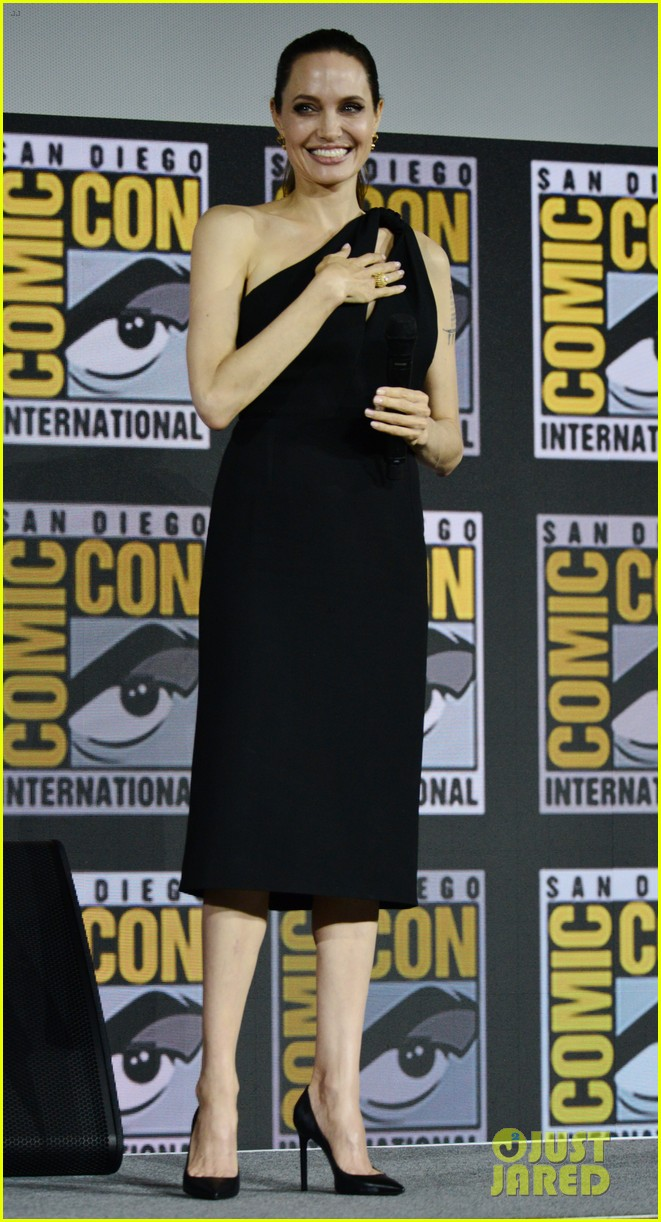 angelina jolie the eternals co stars comic con 22