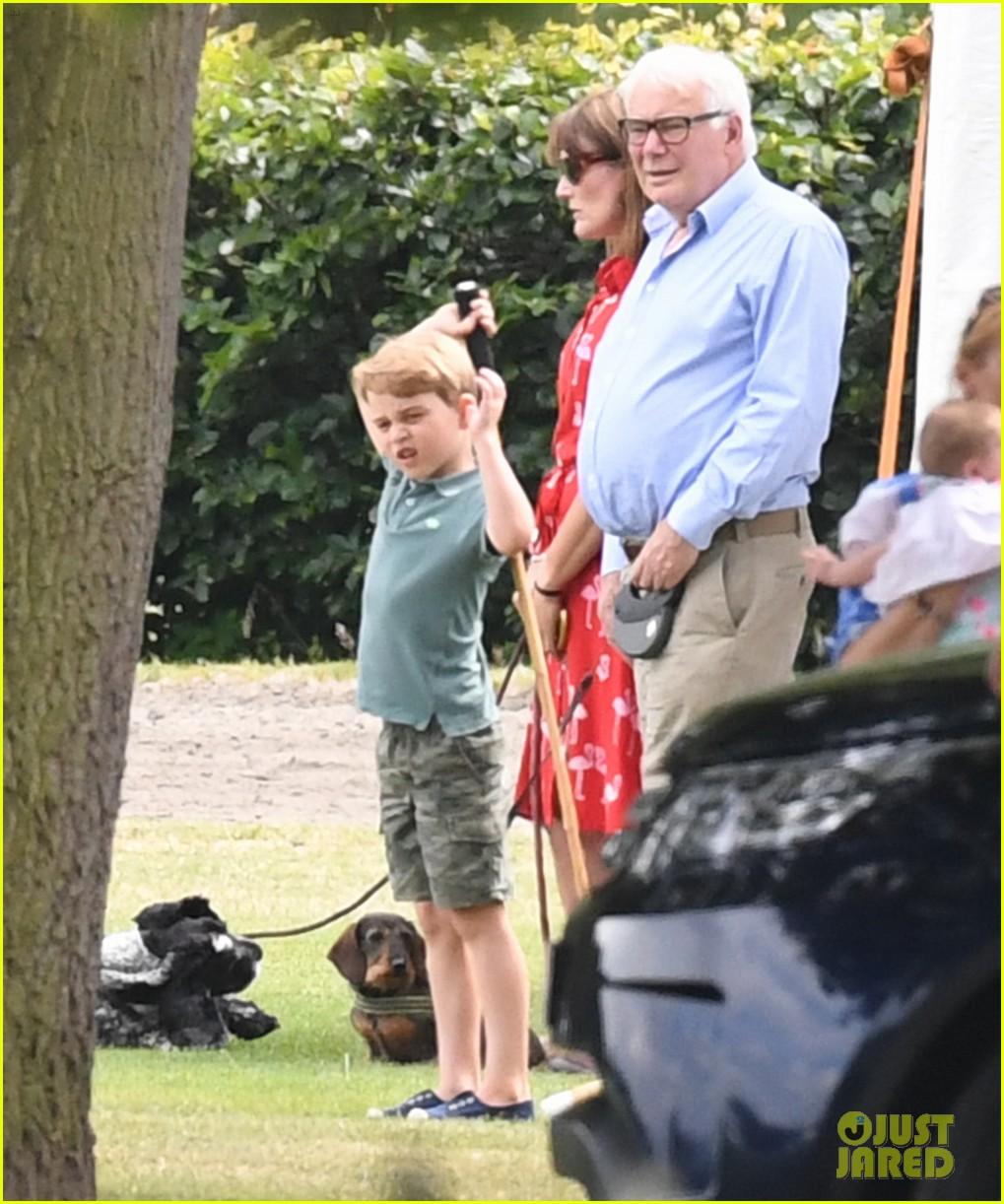 kate middleton meghan markle kids at polo match 044319939