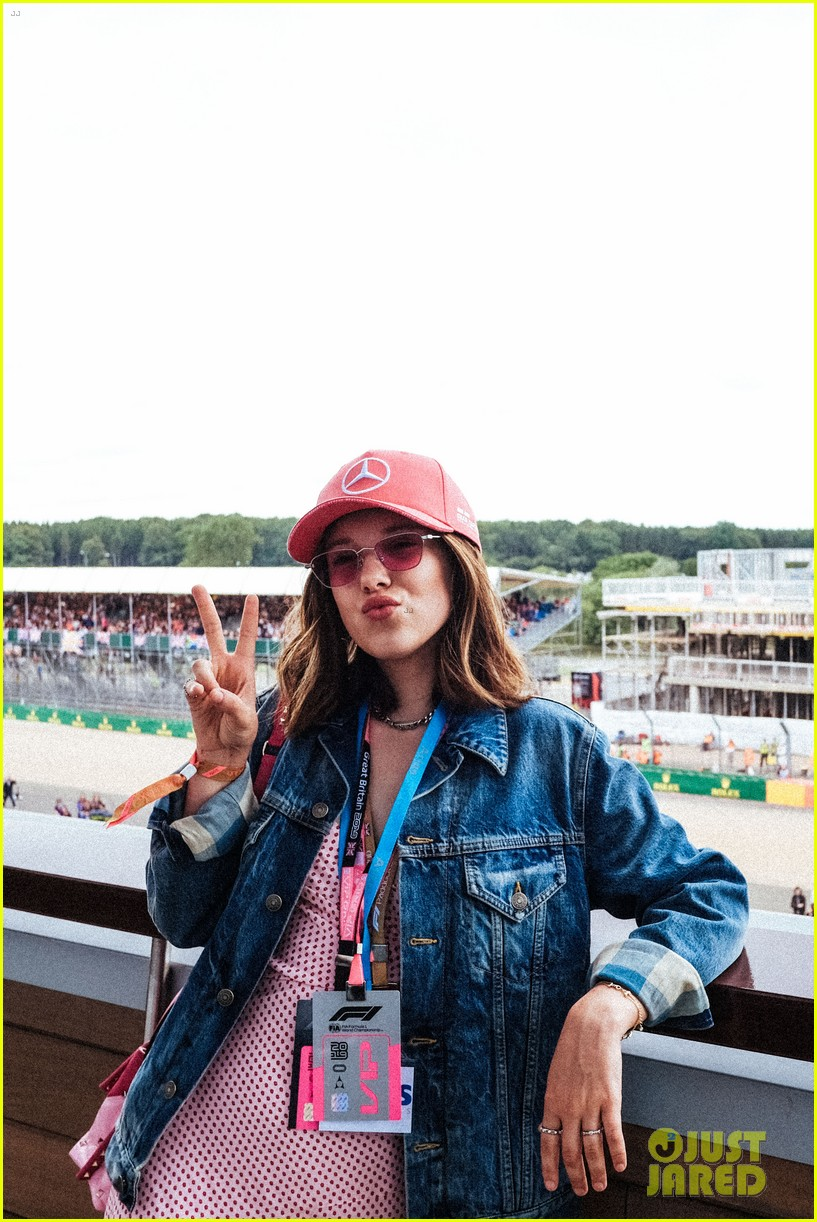 millie bobby brown hangs with spice girls at formula one race 014321807