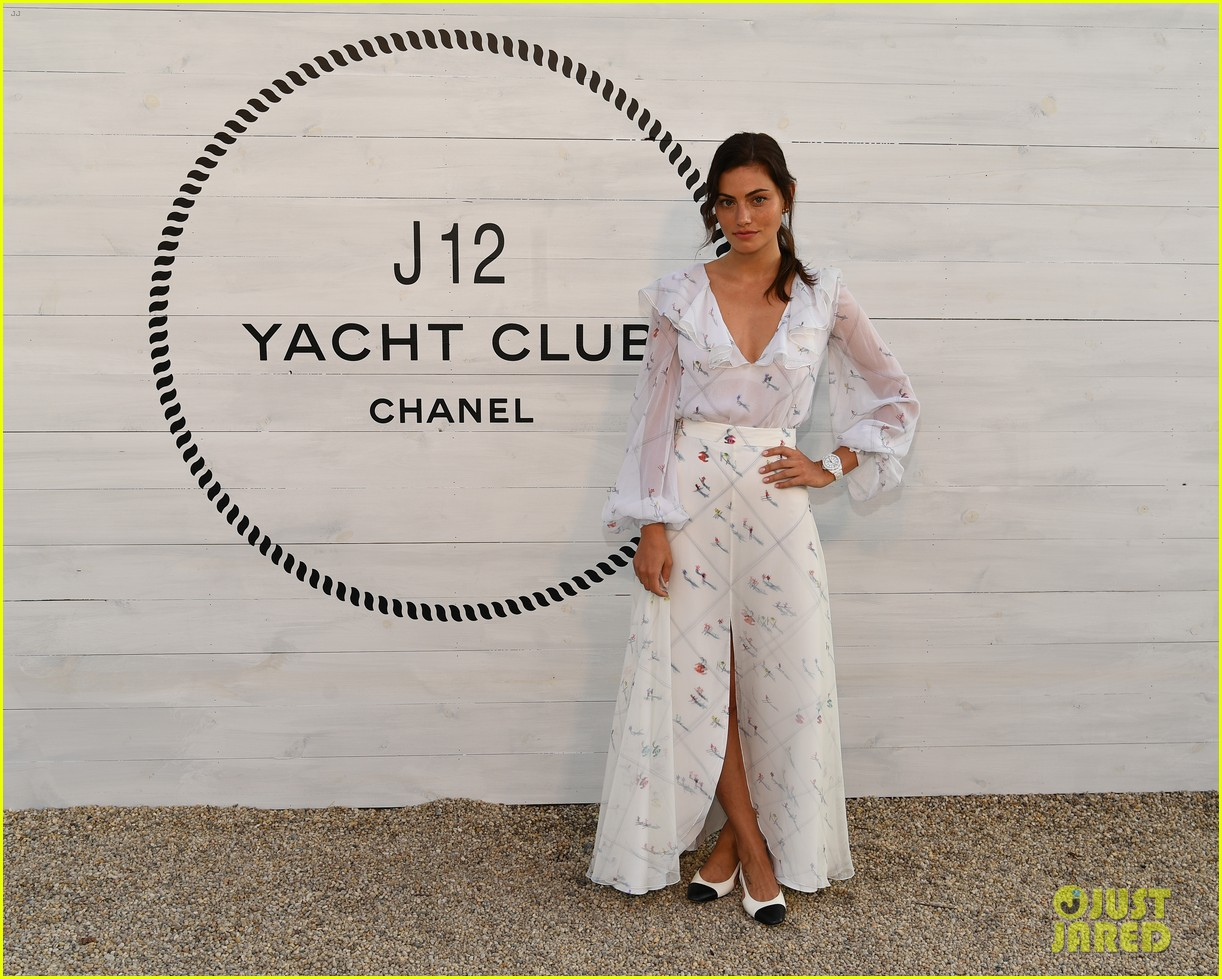 phoebe tonkin camila morrone billie eilish attend chanel j12 dinner 094324990