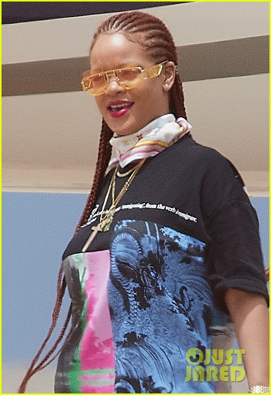 rihanna touches down in her native barbados 054318289