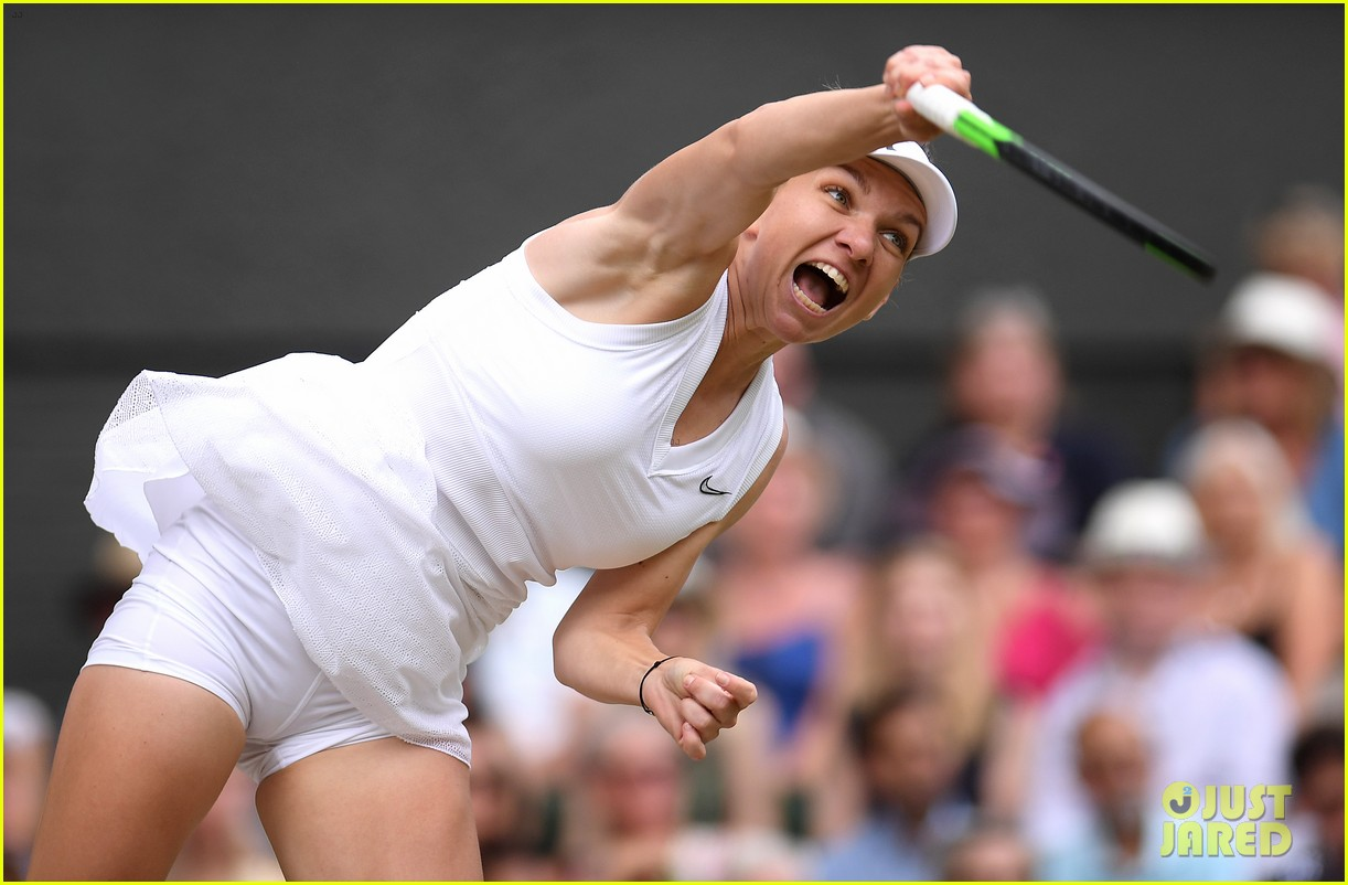 serena williams simona halep wimbledon final 09