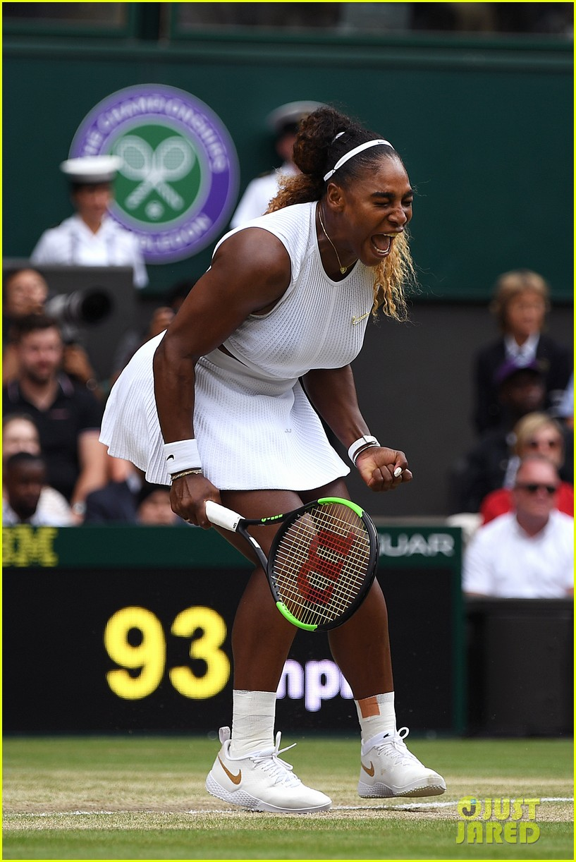 serena williams simona halep wimbledon final 11