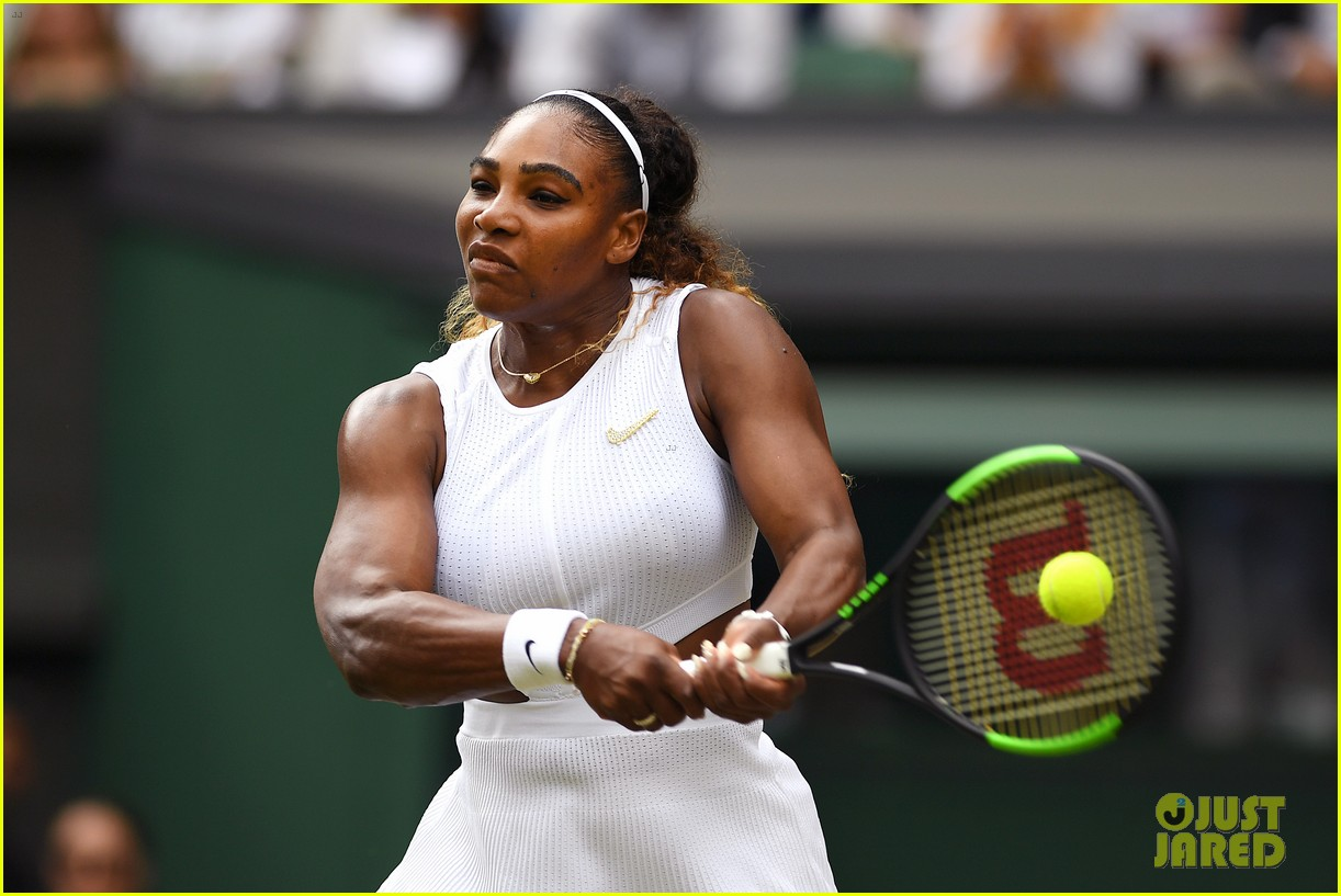 serena williams simona halep wimbledon final 12