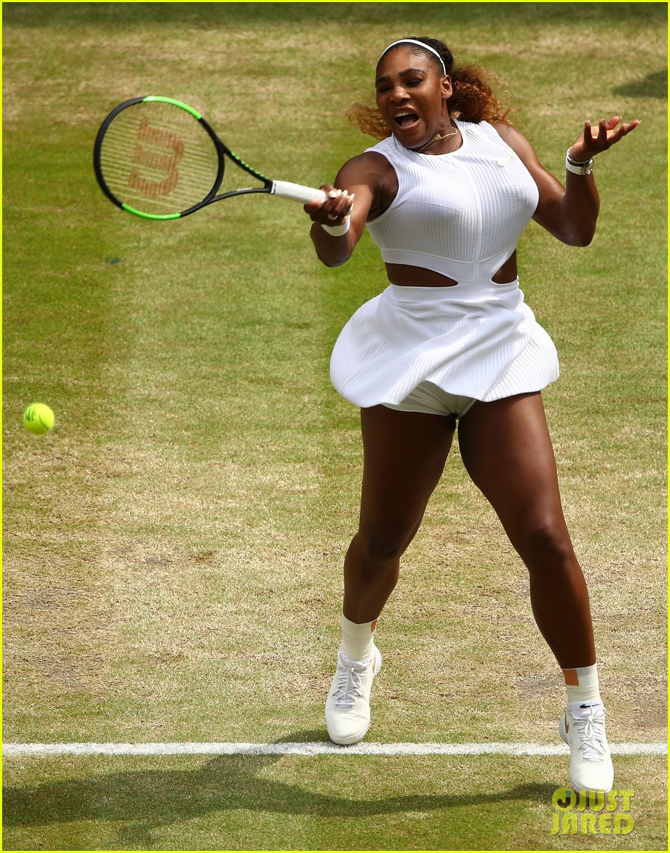 serena williams simona halep wimbledon final 13
