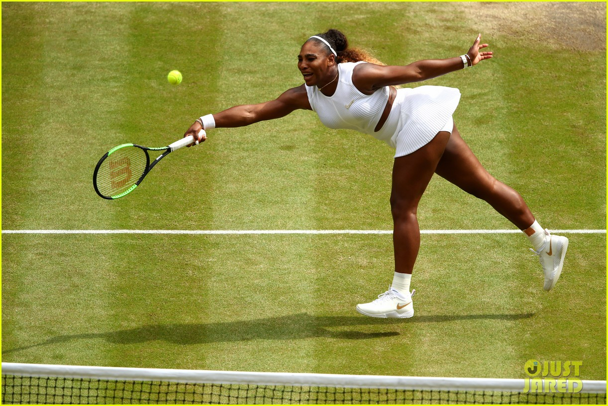 serena williams simona halep wimbledon final 14