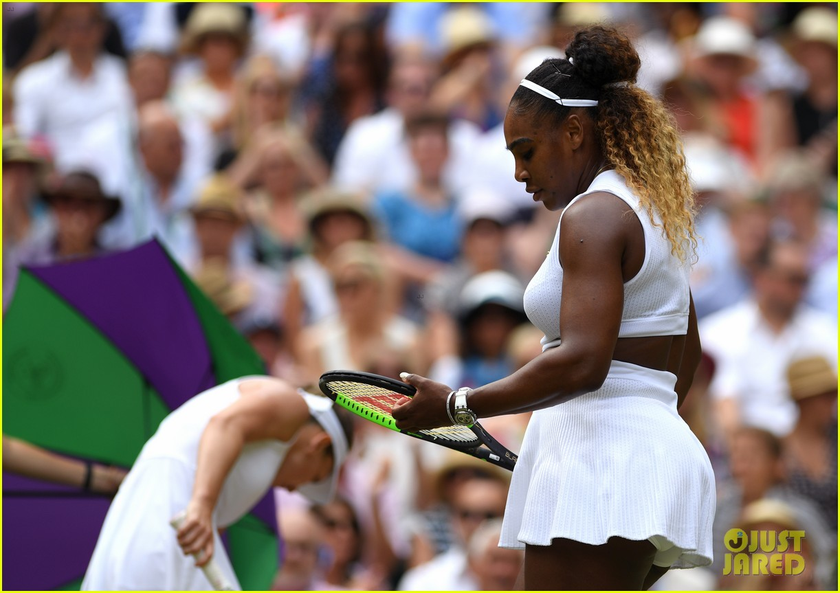 serena williams simona halep wimbledon final 16