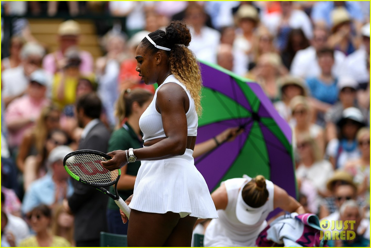 serena williams simona halep wimbledon final 17