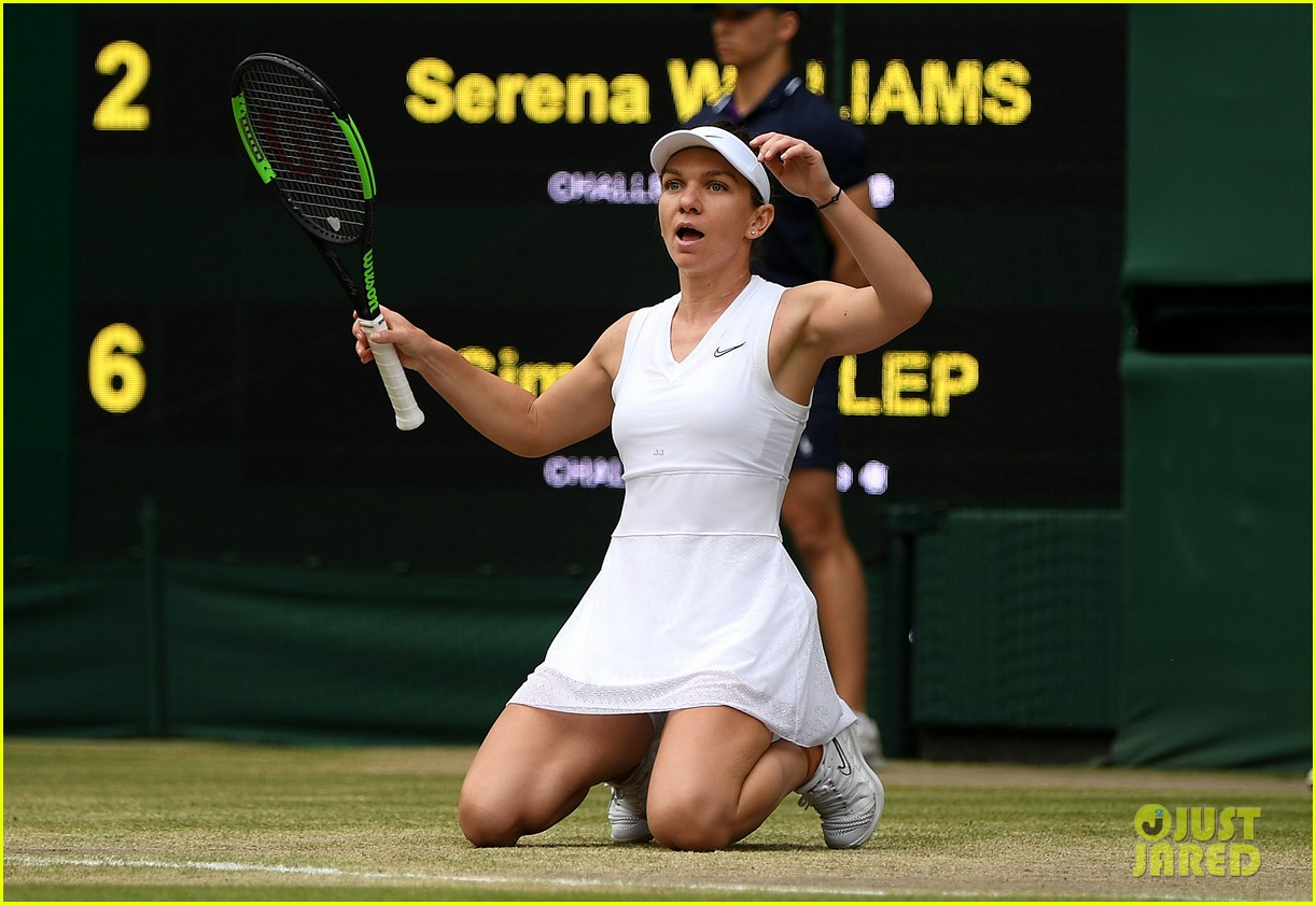 serena williams simona halep wimbledon final 21
