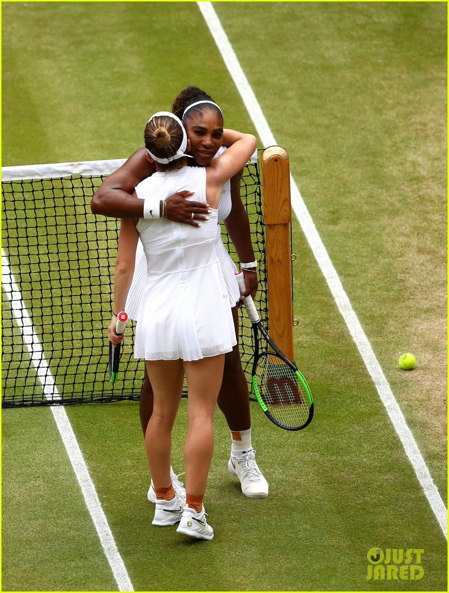 serena williams simona halep wimbledon final 22