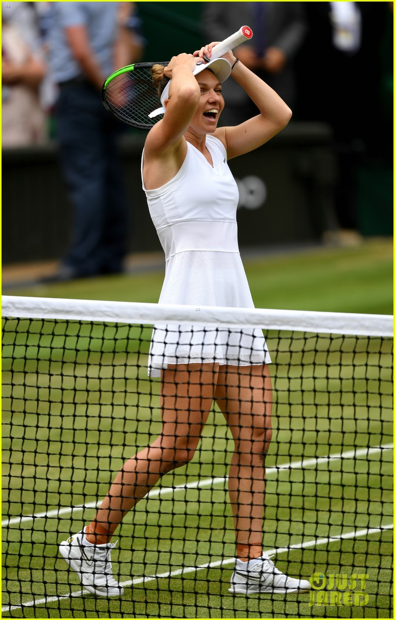 serena williams simona halep wimbledon final 23
