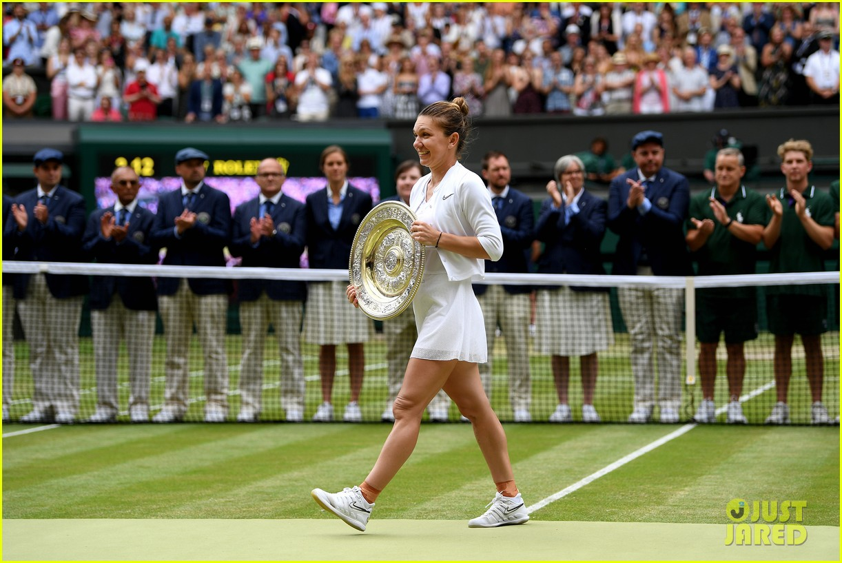 serena williams simona halep wimbledon final 24