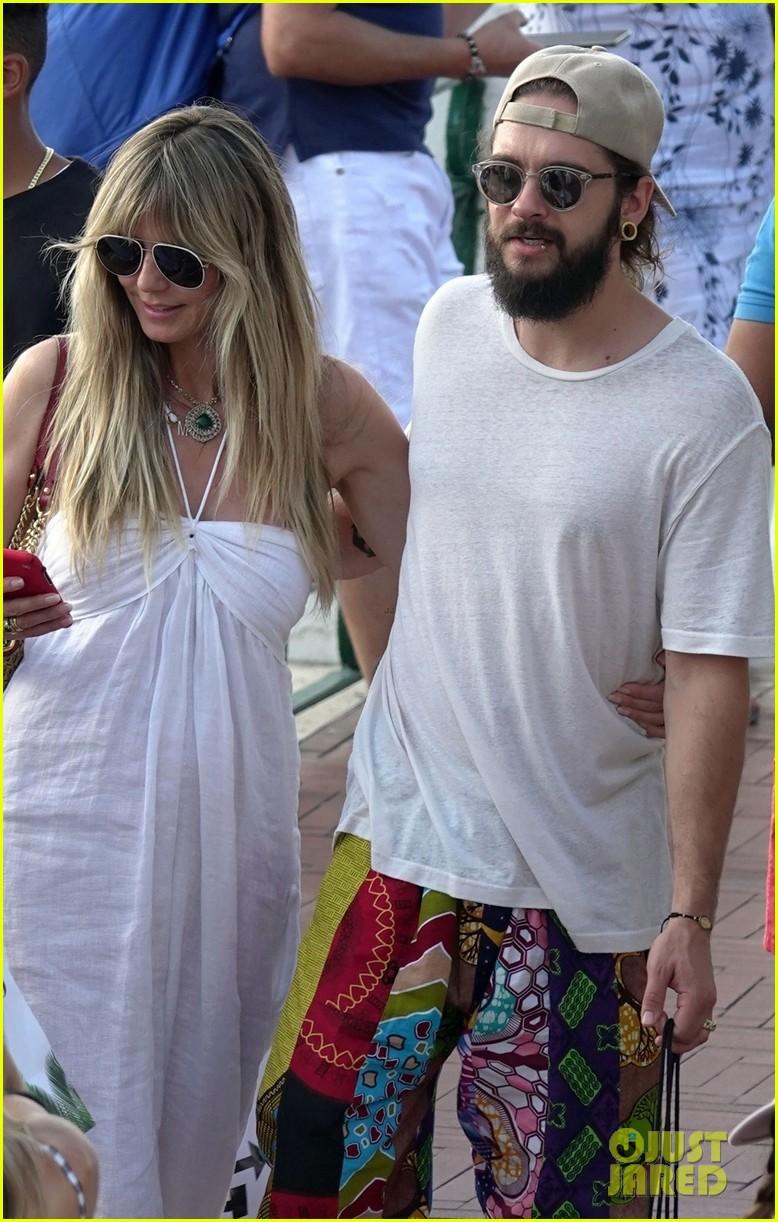 heidi klum tom kaulitz look so in love on vacation in italy 034328032