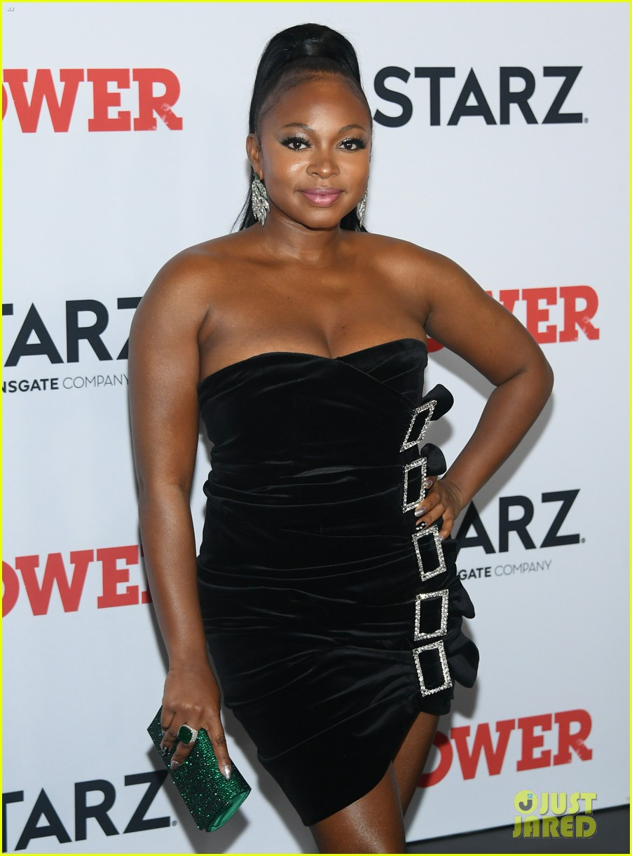 50 cent lala anthony more power season six premiere in nyc 094337842