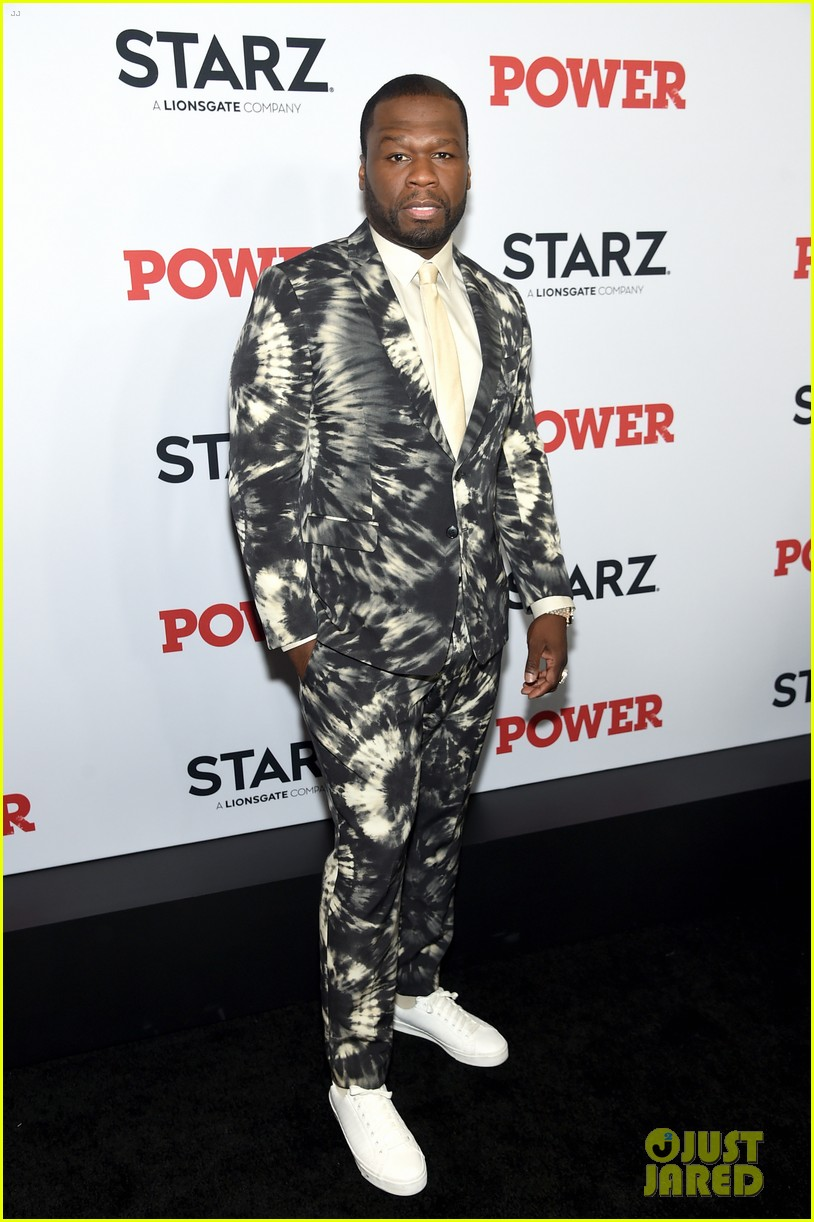 50 cent lala anthony more power season six premiere in nyc 114337844