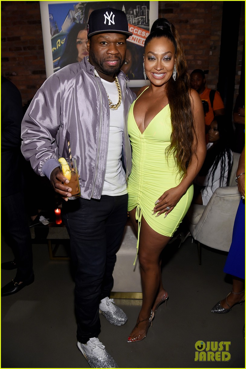 50 cent lala anthony more power season six premiere in nyc 354337868