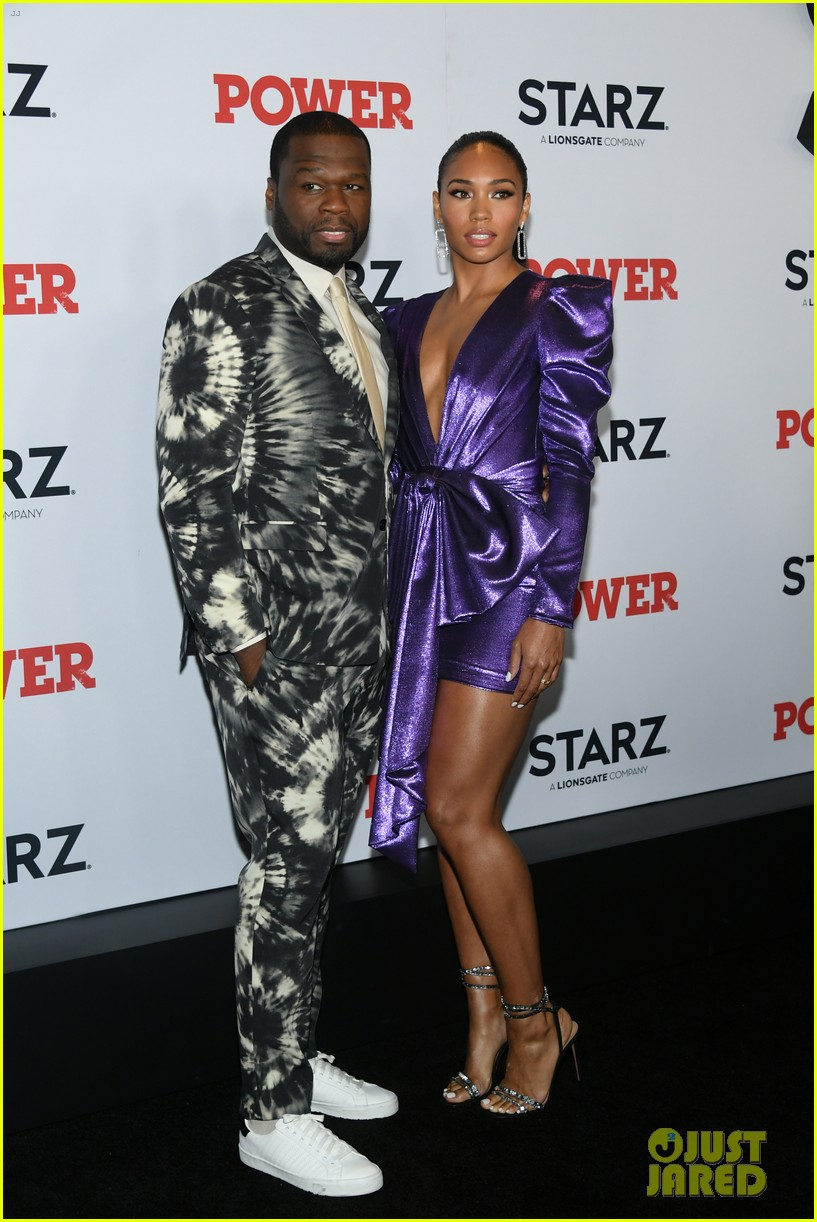 50 cent lala anthony more power season six premiere in nyc 384337871