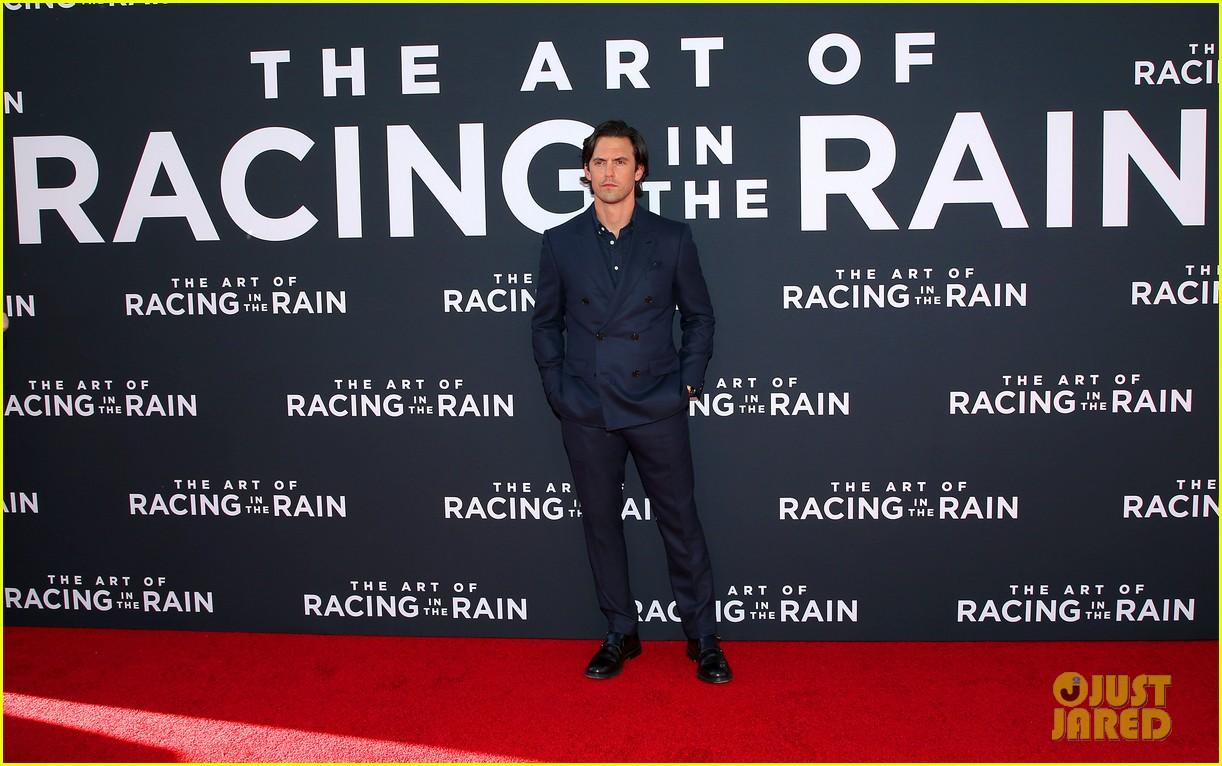 amanda seyfried milo ventimiglia art of racing in the rain premiere 07