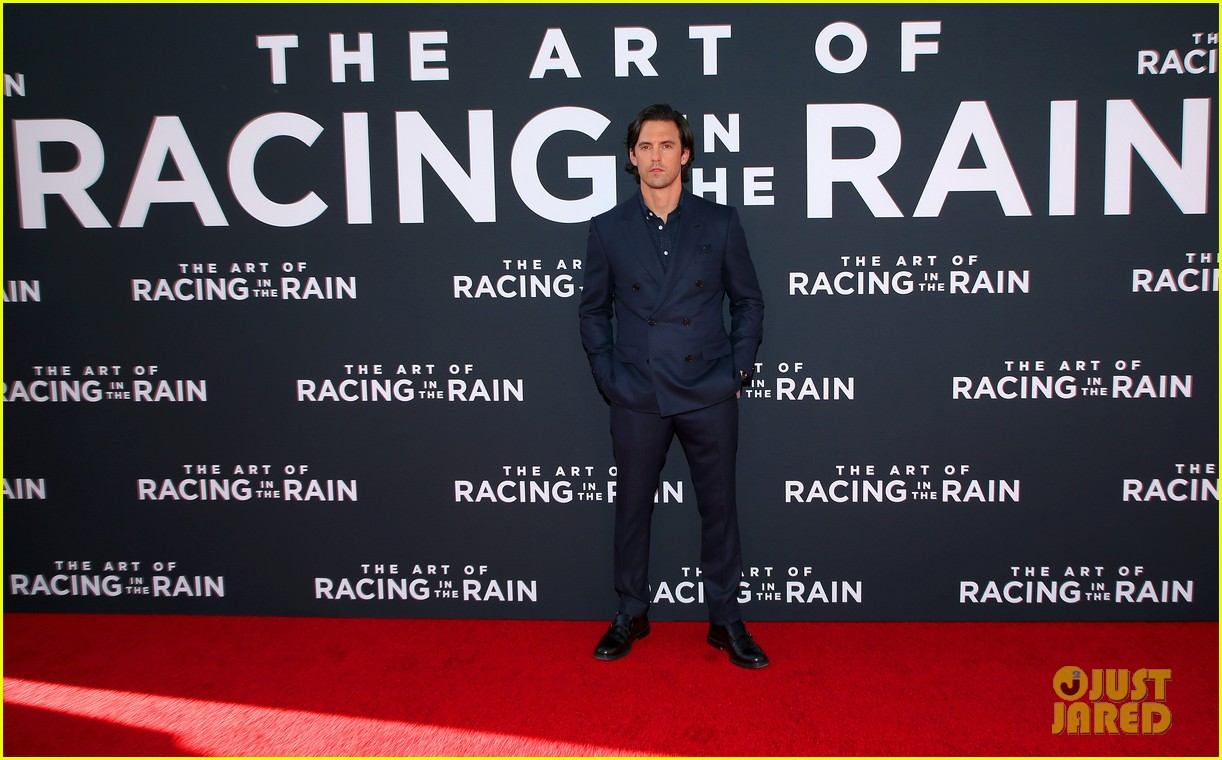 amanda seyfried milo ventimiglia art of racing in the rain premiere 084329850