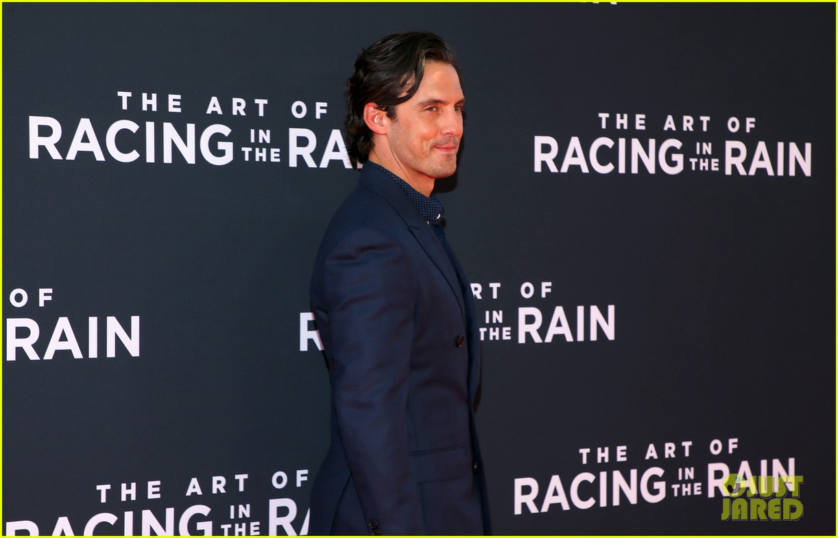 amanda seyfried milo ventimiglia art of racing in the rain premiere 104329852