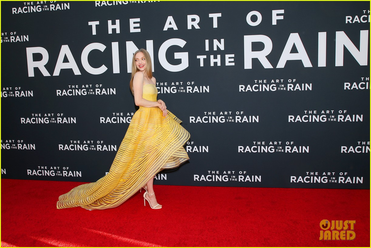amanda seyfried milo ventimiglia art of racing in the rain premiere 144329856