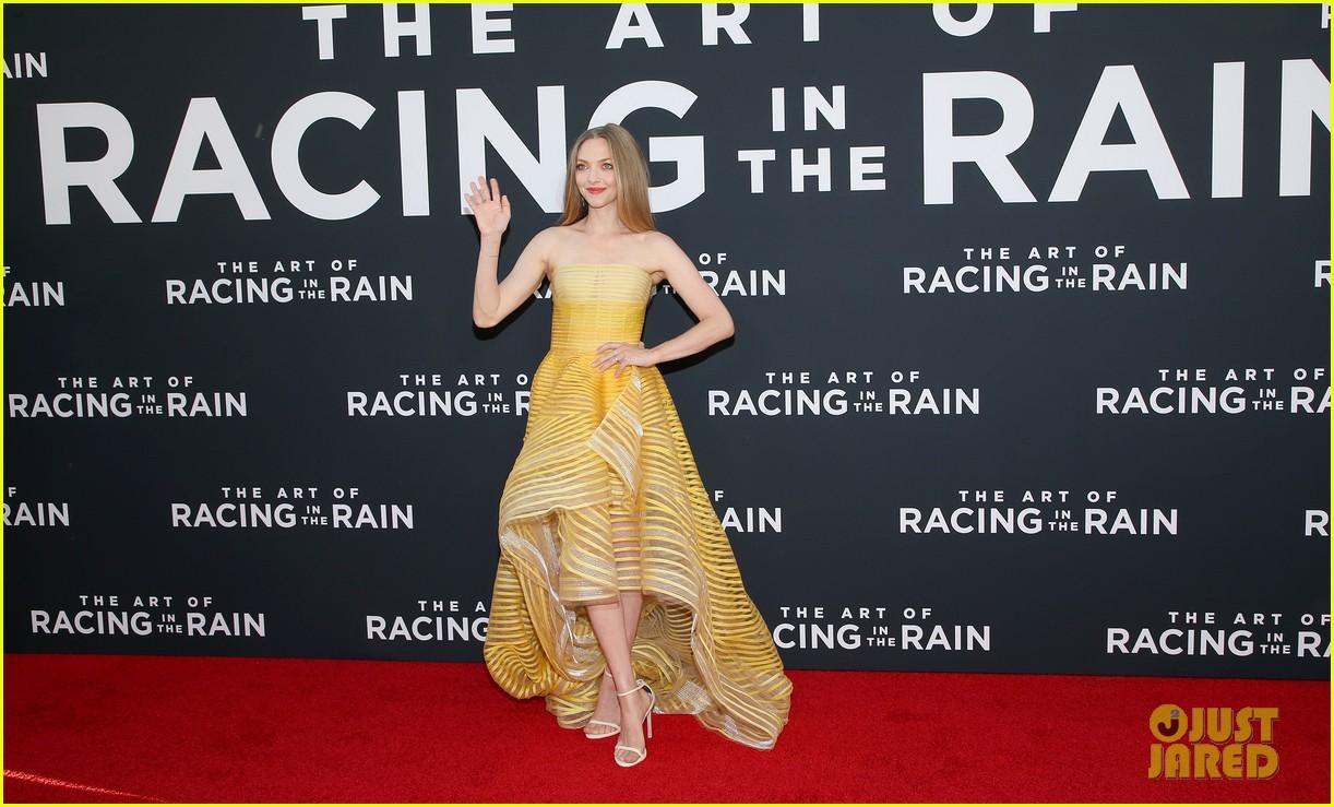 amanda seyfried milo ventimiglia art of racing in the rain premiere 164329858