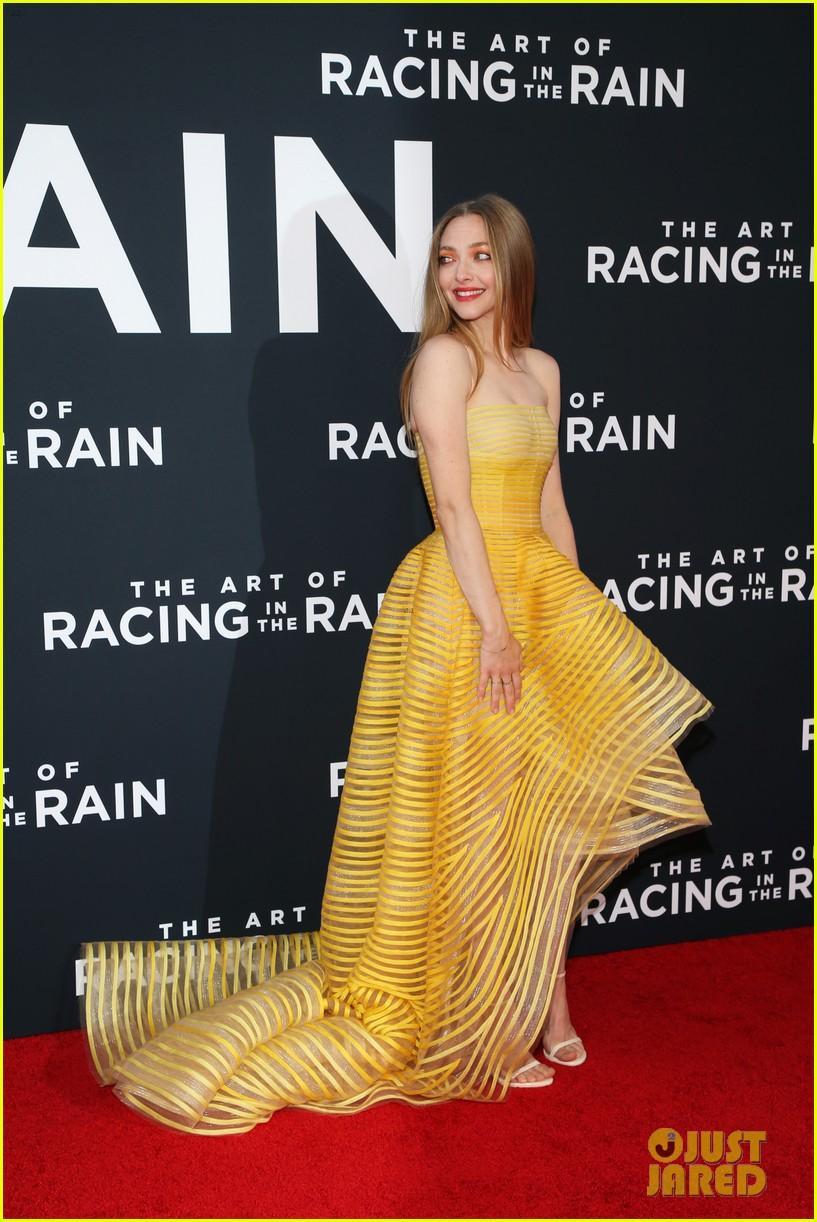 amanda seyfried milo ventimiglia art of racing in the rain premiere 284329870