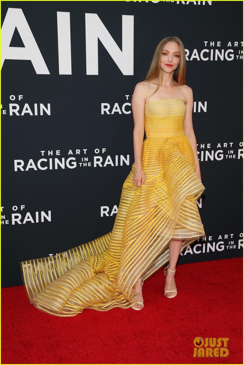 amanda seyfried milo ventimiglia art of racing in the rain premiere 294329871