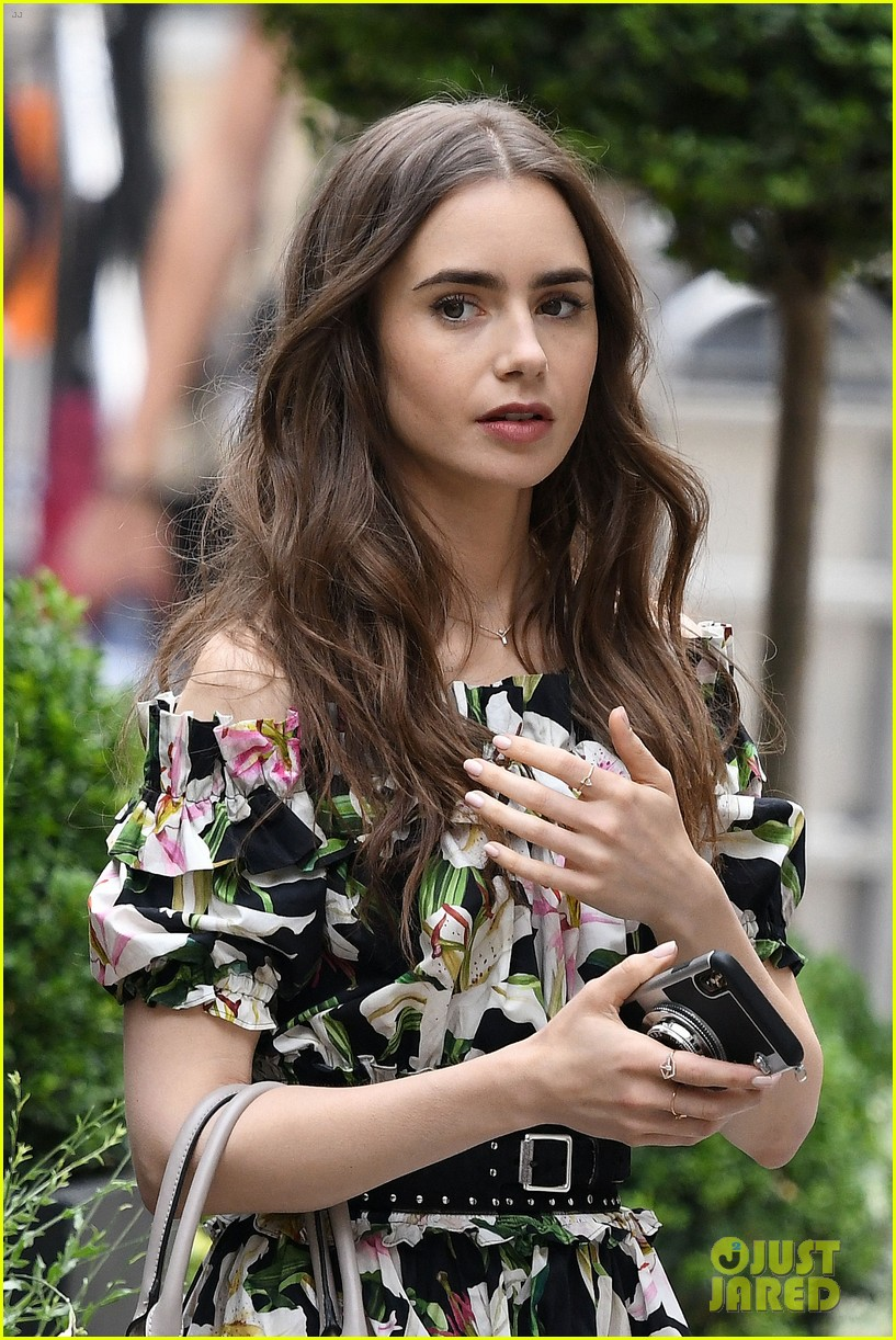 lily collins new looks emily paris filming 024335278