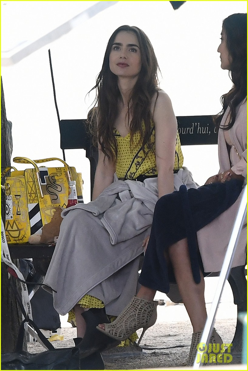 lily collins starts filming emily in paris france 054335073
