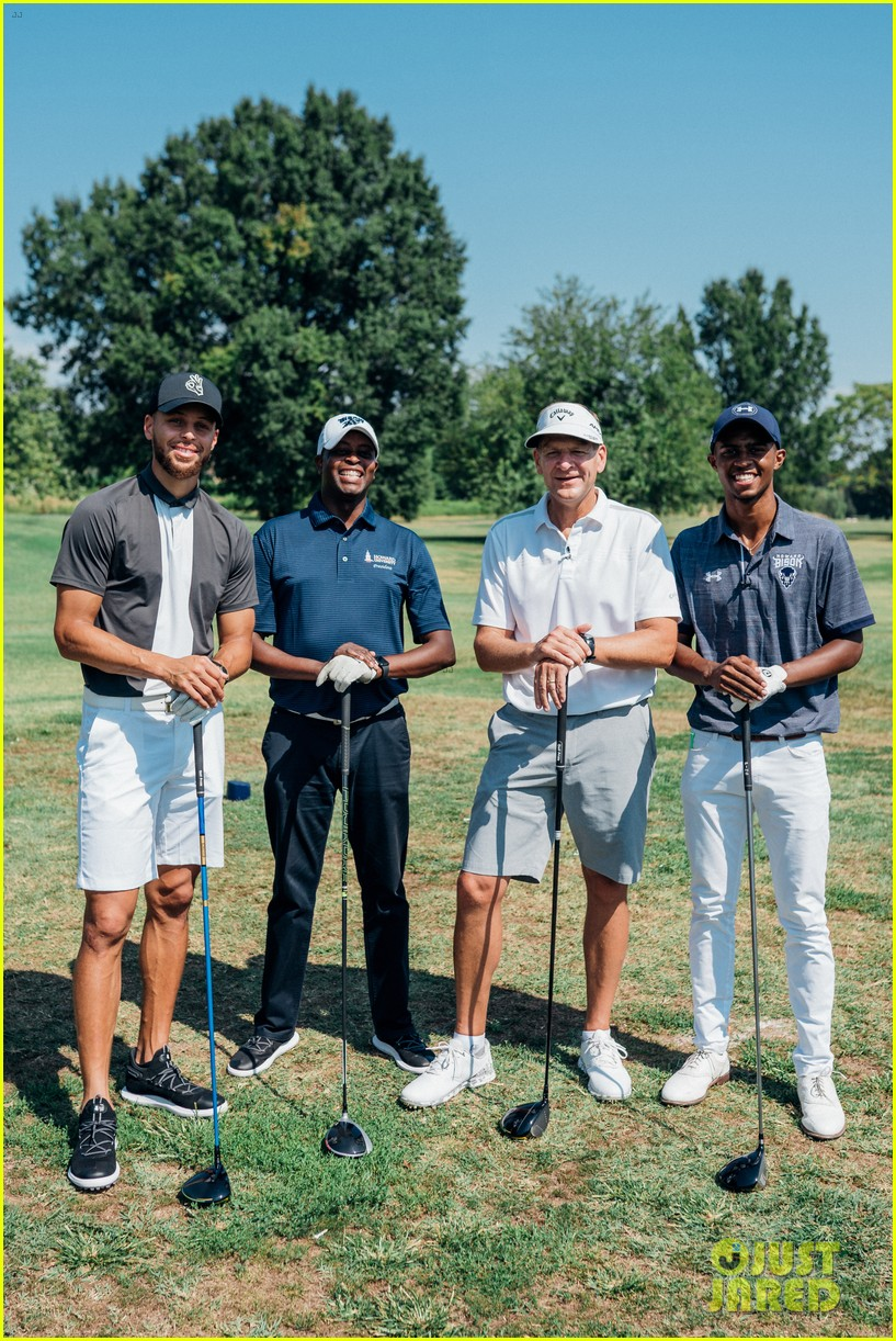 stephen curry launches golf program at howard university 044337517