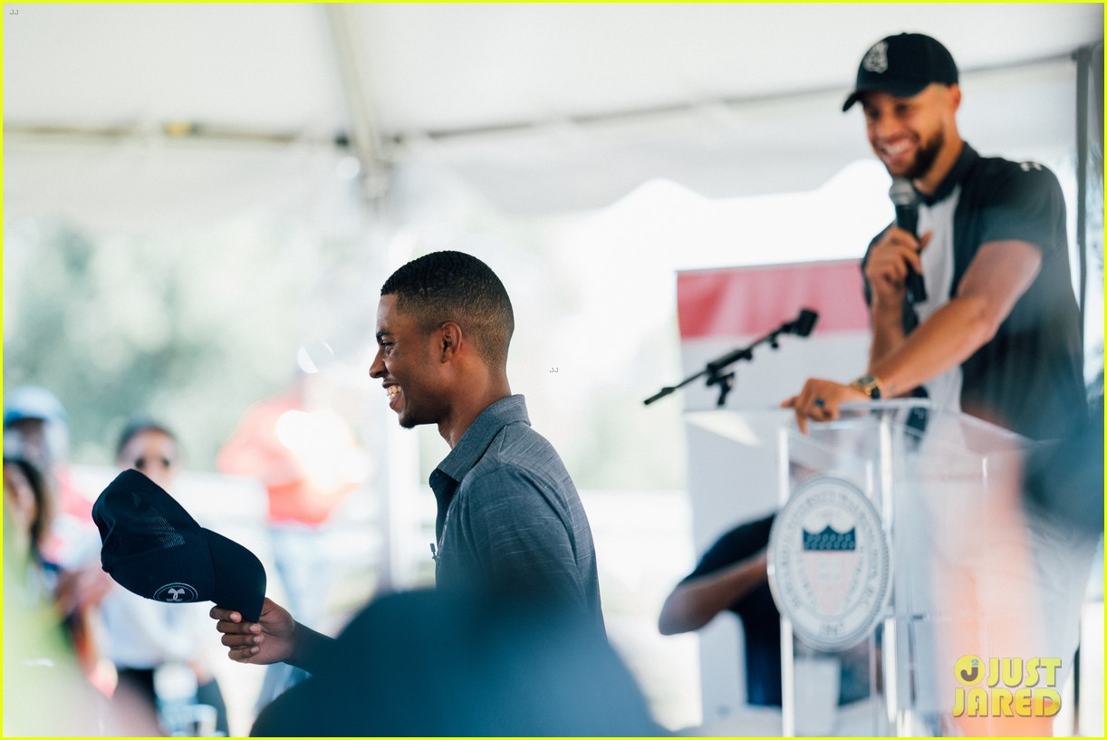 stephen curry launches golf program at howard university 054337518
