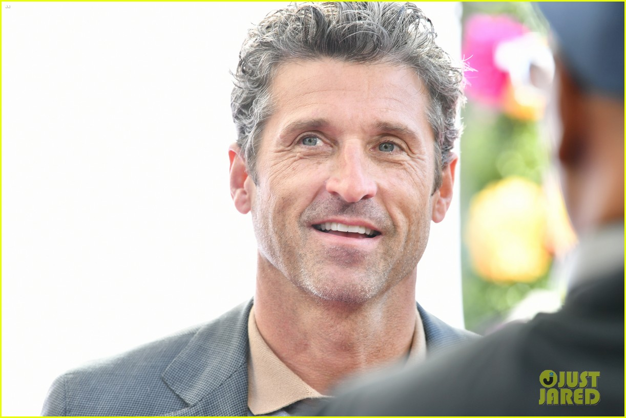 patrick dempsey wife jillian daughter tallulah american cancer society benefit 034337230