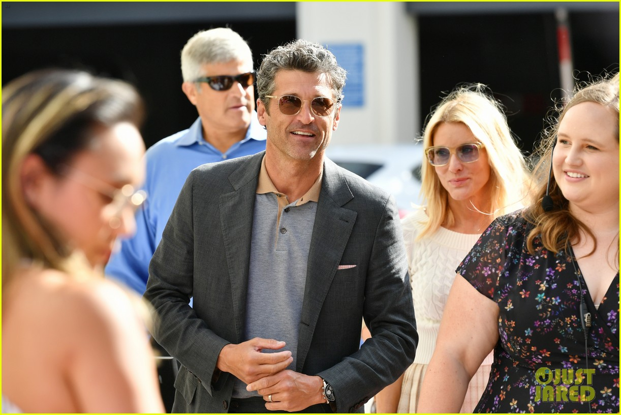 Patrick Dempsey Is Joined By Wife Jillian Daughter Tallulah At