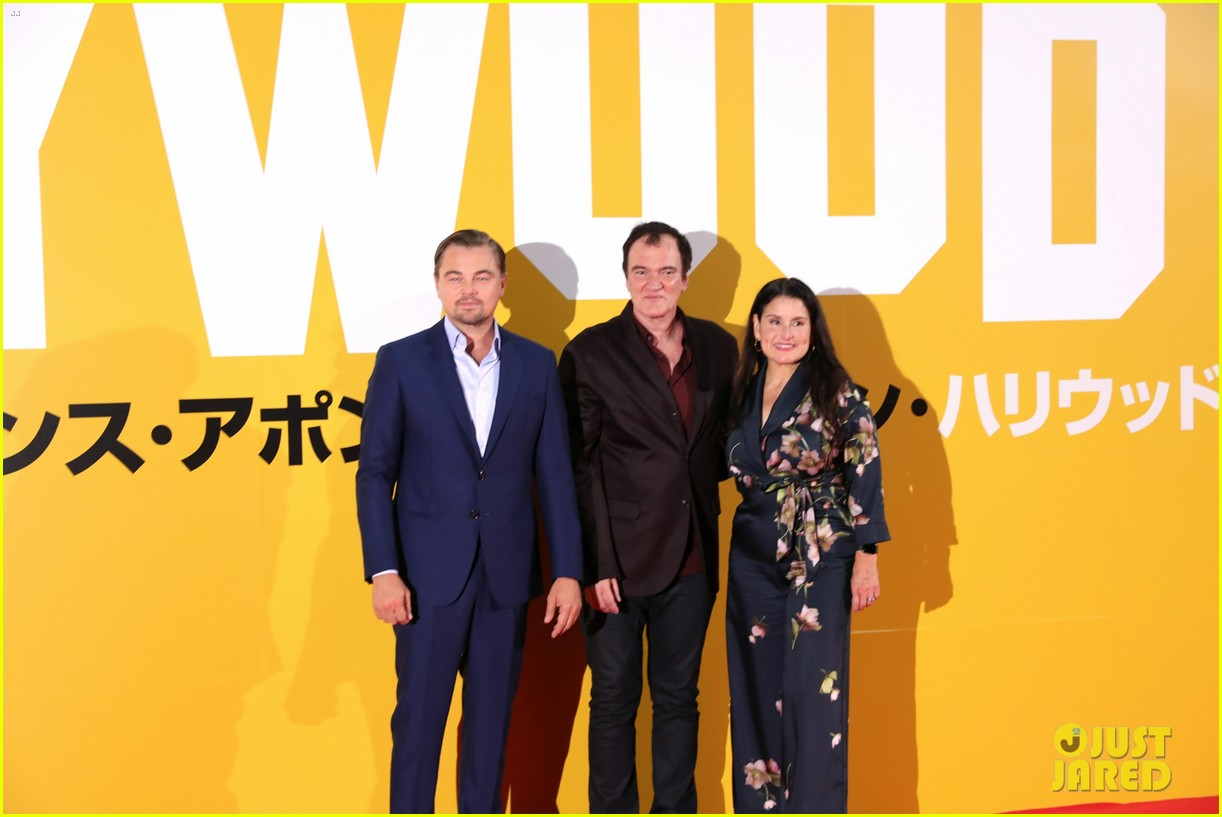 leonardo dicaprio suits up for once upon a time in hollywood japan premiere 014340084