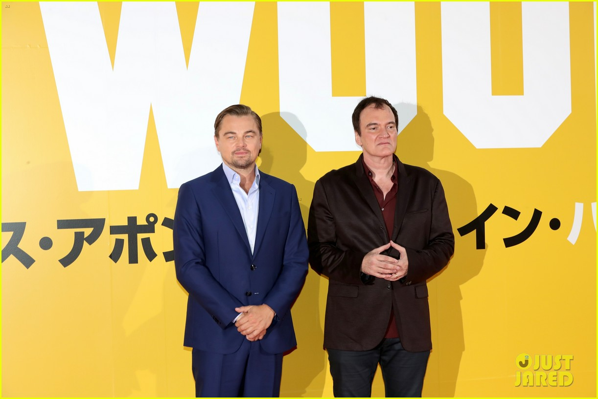 leonardo dicaprio suits up for once upon a time in hollywood japan premiere 114340094