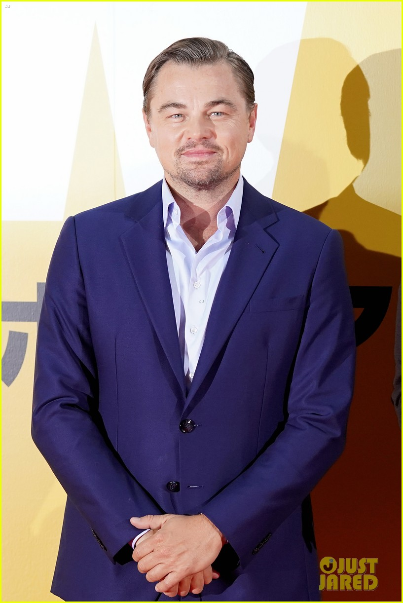 leonardo dicaprio suits up for once upon a time in hollywood japan premiere 154340098